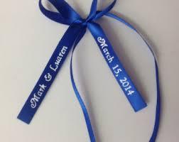 engraved ribbon personalized ribbon etsy