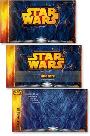 star wars template portfolio the powerpoint blog