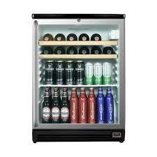 All Glass Display Cabinets Home Summit Pub Cellar Glass Door Bar Refrigerator 5 5 Cu Ft Black