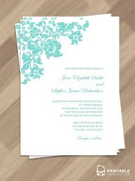 Wedding Invitations Templates Wedding Template A Pink And Green Floral Save The Date Wedding
