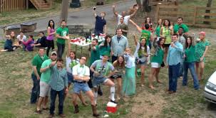 Backyard Party by A Very Green Backyard Party Cowboy Boots And Competencies