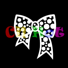 hello ribbon dot bow tie ribbon butterfly girl pink hello
