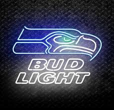 bud light neon signs for sale buy nfl seattle seahawks bud light neon sign online neonstation
