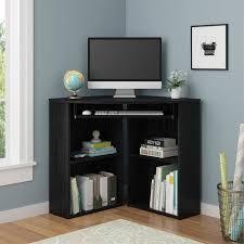 Black Corner Computer Desk With Hutch Best 25 Black Corner Desk Ideas On Pinterest Small Corner Desk