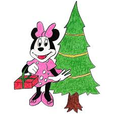 christmas coloring pages minnie mouse download free
