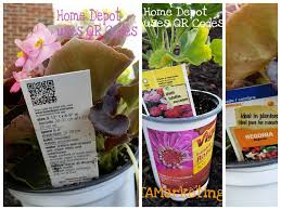 Home Depot Christmas Hours by Qr Codes Adds A Hi Tech Twist To Gardening Mobile Marketing
