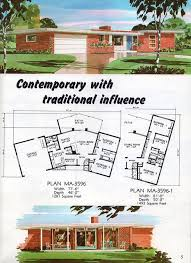 Mid Century Modern Ranch House Plans Mid Century Modern House Plans Descargas Mundiales Com