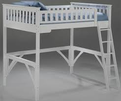 night and day furniture ginger model twin and full loft beds in