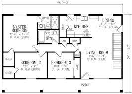 ranch floor plans 1148 square 3 bedrooms 2 batrooms on 1 levels floor plan