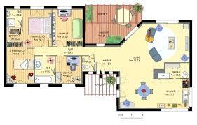 plan de maison 4 chambres gratuit plan maison 4 chambres etage source d inspiration plans de maisons