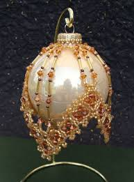 bead knitter gallery it s beaded ornament cover time
