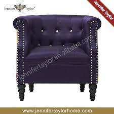 One Seater Sofa by Crystal Button Living Room Arm Chair Single Seater Living Room