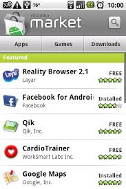 android market app android market joins play to rival apple itunes store
