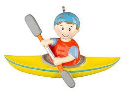 kayak ornament etsy