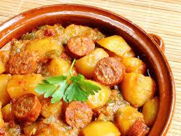 cuisiner rapide et bon chorizo aux pommes de terres recette de chorizo aux pommes de