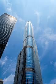 trump international hotel and tower skyscraper in chicago