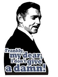 i don t give a frankly my dear i don t give a damn stickers by max alessandrini