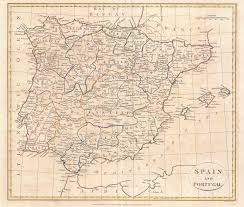Spain Portugal Map by File 1799 Clement Cruttwell Map Of Spain And Portugal