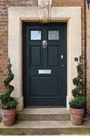 Green Upvc Front Doors by Front Doors Cool Dark Green Front Door 65 Dark Brown Upvc Front