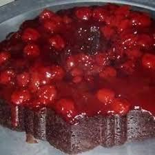 chocolate cherry upside down cake recipe allrecipes com