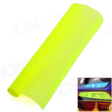 diy fluorescent light covers diy frosted flash point car headl light sticker fluorescence