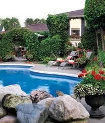 Pool Garden Ideas Some Low Debris Plants For Around Pool Landscaping Around Patio