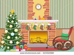 Christmas Livingroom by Christmas Tree Room Stock Vectors Images U0026 Vector Art Shutterstock