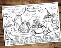 kids wedding activity book printable wedding printable