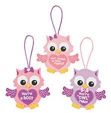 valentine owl ornament craft kit crystalandcomp com