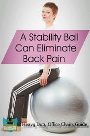 best stability ball chair for office buying guide heavy duty
