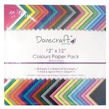dovecraft colours paper pack