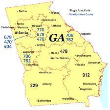 us 3 digit area code no more 404 678 area codes given in atlanta