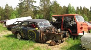 used volvo trucks for sale in sweden huge swedish junkyard holds countless treasures autoweek