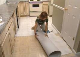 Floor Covering Ideas For Hallways How To Install Self Stick Floor Tiles How Tos Diy