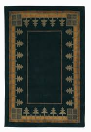 Forest Rug Craftsman Pine Forest Meadow Rug The Mission Motif