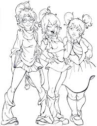 cute manga coloring pages zayas page 37 nofrackingway info
