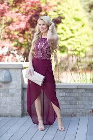 burgundy dress for wedding guest wedding guest attire on oliviarink oliviarink