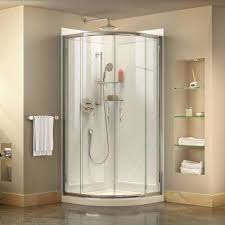 Plexiglass Shower Doors Acrylic Shower Stalls Kits Showers The Home Depot