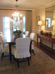 Covers For Dining Chairs Dining Chair Slip Covers Warm Kitchen Dining Room Ideas