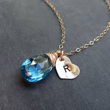 necklace with birthstones otis b jewelry child s birthstone initial necklace