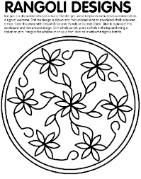 design coloring pages rangoli designs coloring page crayola com