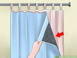 4 ways to choose curtains wikihow