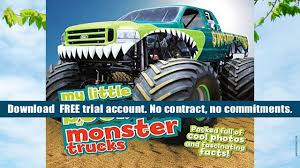 free download my little book of monster trucks chris oxlade pre