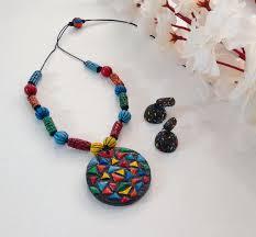 buy terracotta jewellery terracotta necklaces terracotta