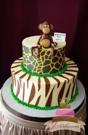 jungle baby shower cakes baby showers jcakes