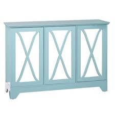 blue wood mirrored sideboard u0026 buffet tables you u0027ll love wayfair