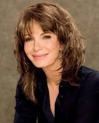 mid lengh hairstyles for over 50 with fringe cute medium length shag hairstyles for women over 50 hair