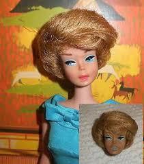 vintage bubble cut barbie restoration service lolaxs bleaching