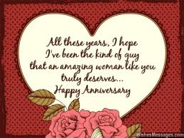 anniversary card greetings messages all these years i i been the of that an