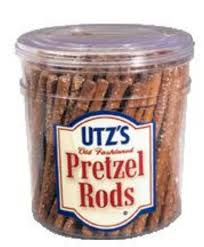 wholesale pretzel rods pretzel barrels store utzsnacks